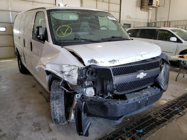 Salvage trucks for sale at Columbia, MO auction: 2009 Chevrolet Express G2