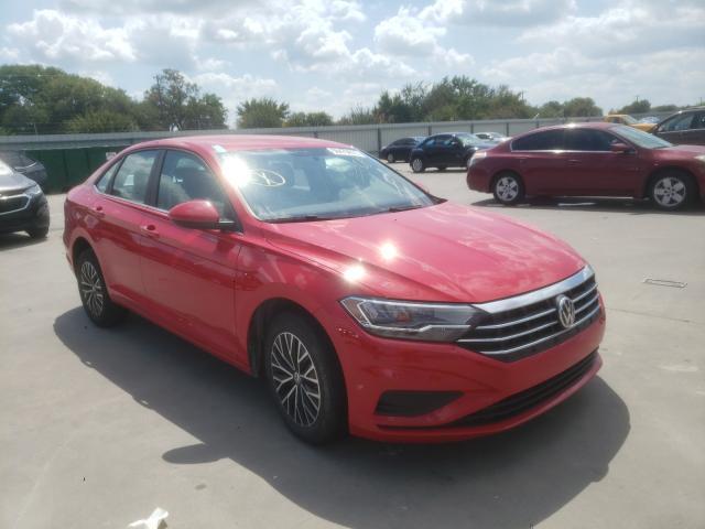 Vehiculos salvage en venta de Copart Wilmer, TX: 2021 Volkswagen Jetta S