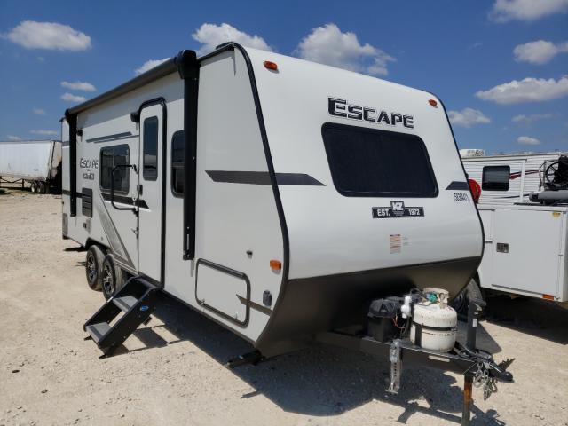 Esca salvage cars for sale: 2020 Esca Travel Trailer