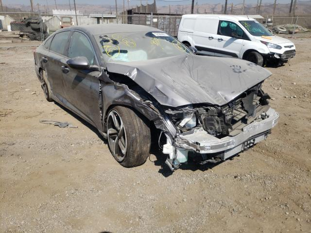 Salvage cars for sale from Copart San Martin, CA: 2020 Honda Accord Sport