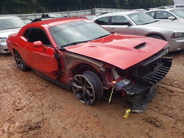 Salvage cars for sale from Copart Austell, GA: 2019 Dodge Challenger