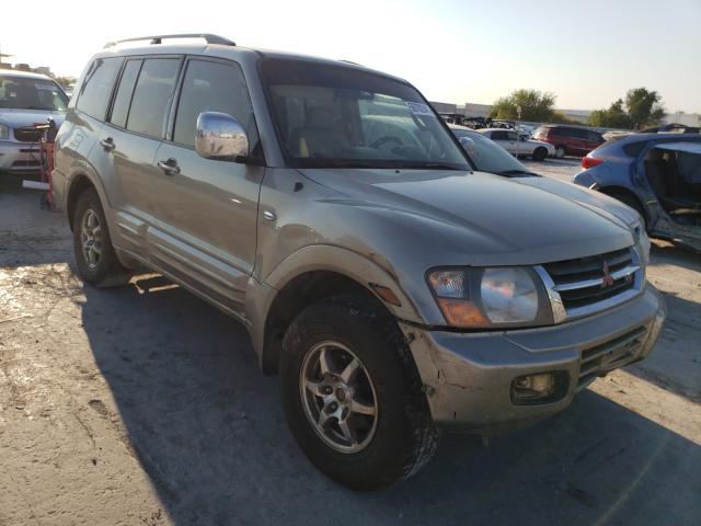 Salvage cars for sale from Copart Tulsa, OK: 2001 Mitsubishi Montero LI