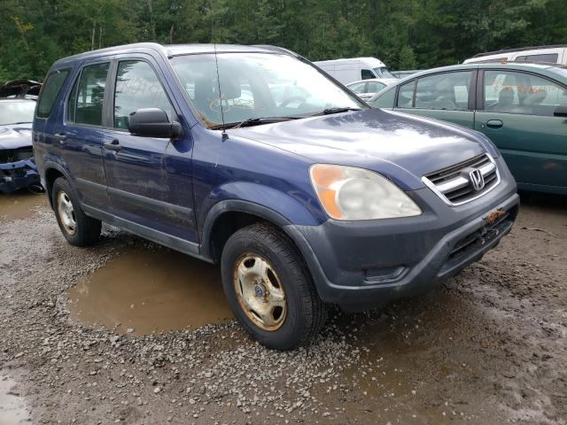 Salvage cars for sale from Copart Lyman, ME: 2002 Honda CR-V LX