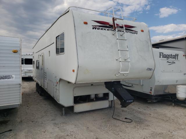 Salvage trucks for sale at Grand Prairie, TX auction: 2006 Weekend Warrior Warrior