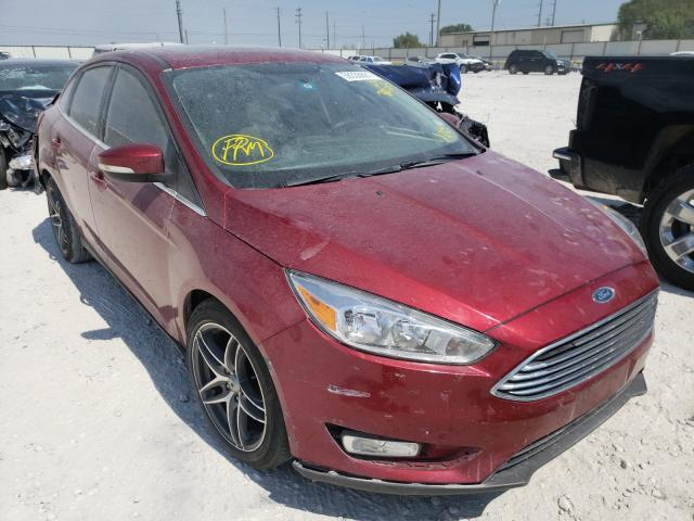 Salvage cars for sale from Copart Haslet, TX: 2015 Ford Focus Titanium