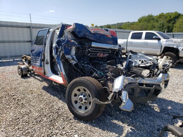 Salvage trucks for sale at Prairie Grove, AR auction: 2017 GMC Sierra K25
