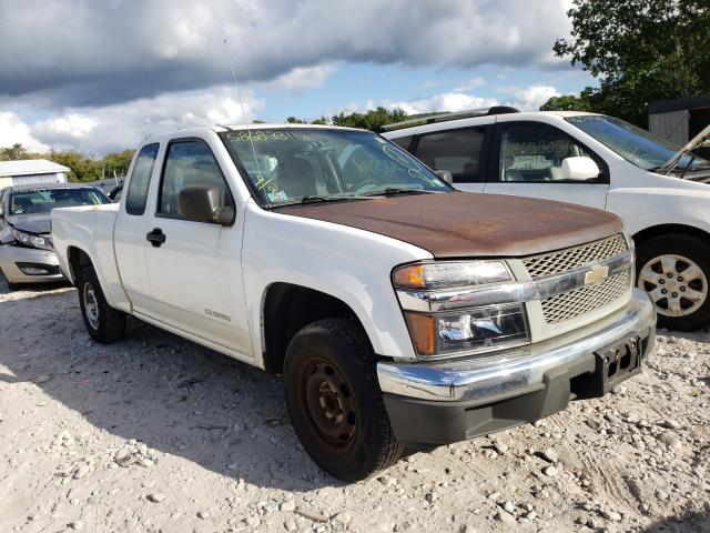 Salvage trucks for sale at Warren, MA auction: 2005 Chevrolet Colorado