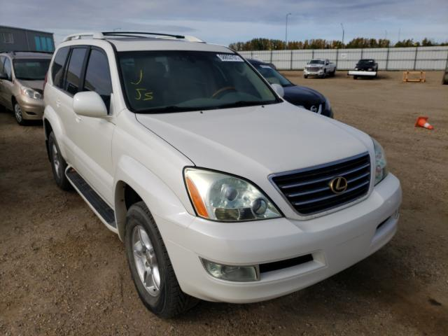 Salvage cars for sale from Copart Nisku, AB: 2006 Lexus GX 470
