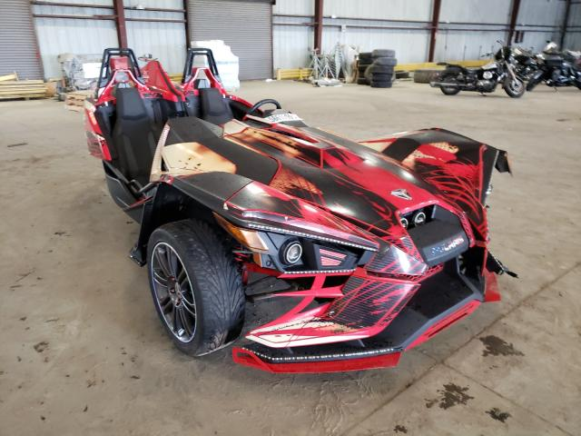 Salvage cars for sale from Copart Jacksonville, FL: 2016 Polaris Slingshot