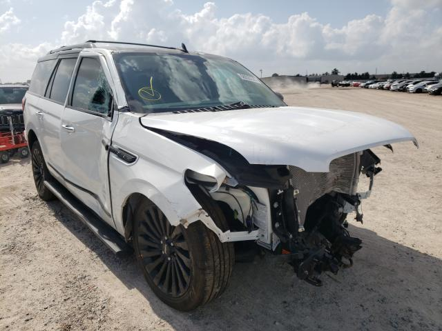 Salvage cars for sale from Copart Houston, TX: 2021 Lincoln Navigator
