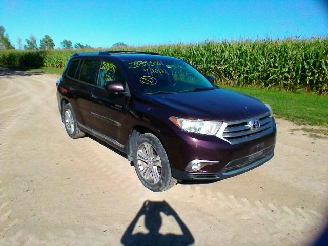 Salvage cars for sale from Copart West Warren, MA: 2013 Toyota Highlander