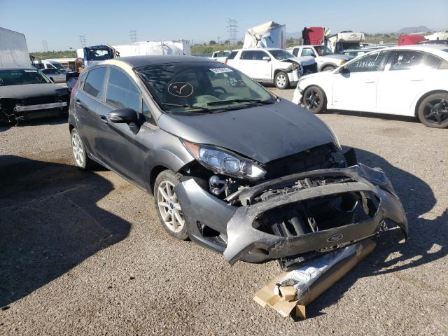 Salvage cars for sale at Tucson, AZ auction: 2015 Ford Fiesta SE