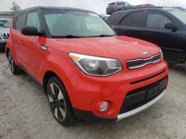 Salvage cars for sale from Copart Walton, KY: 2019 KIA Soul +