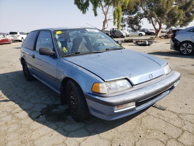 Vehiculos salvage en venta de Copart Martinez, CA: 1991 Honda Civic DX