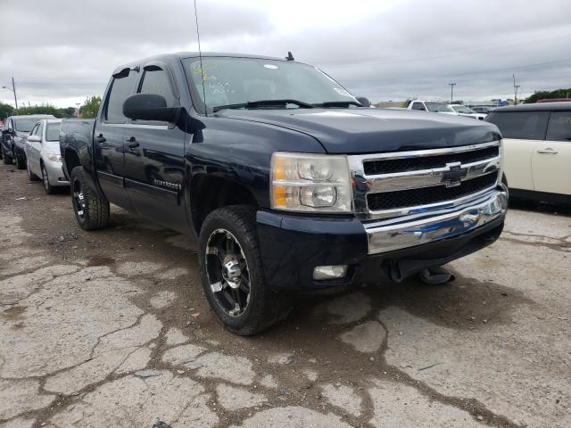 Salvage trucks for sale at Indianapolis, IN auction: 2007 Chevrolet Silverado