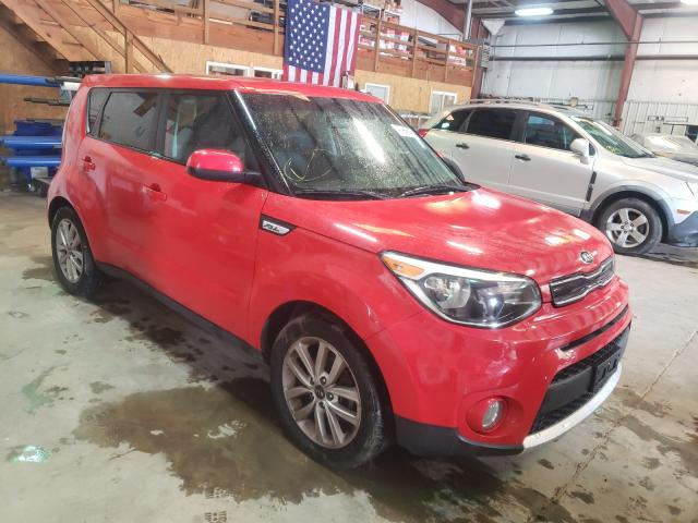 Salvage cars for sale from Copart Austell, GA: 2017 KIA Soul +