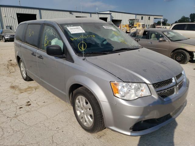 Salvage cars for sale from Copart Kansas City, KS: 2020 Dodge Grand Caravan