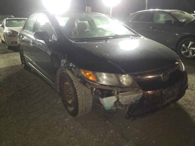 Salvage cars for sale from Copart Marlboro, NY: 2008 Honda Civic LX