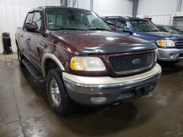Vehiculos salvage en venta de Copart Ham Lake, MN: 2001 Ford F150 Super