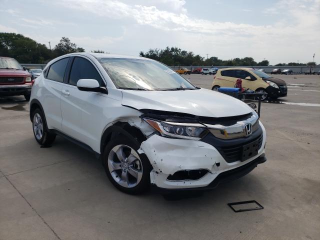 Vehiculos salvage en venta de Copart Wilmer, TX: 2021 Honda HR-V LX
