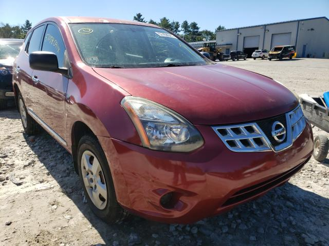Salvage cars for sale from Copart Mendon, MA: 2012 Nissan Rogue S