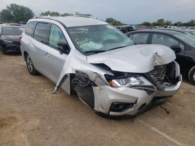 Salvage cars for sale from Copart Des Moines, IA: 2020 Nissan Pathfinder