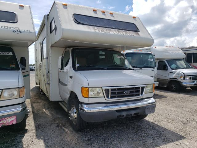 Salvage cars for sale from Copart Jacksonville, FL: 2005 Ford Econoline