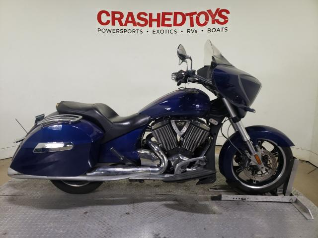 Victory salvage cars for sale: 2012 Victory Cross Country