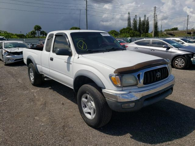 Vehiculos salvage en venta de Copart Miami, FL: 2002 Toyota Tacoma XTR