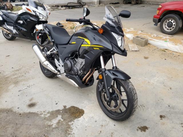 Salvage cars for sale from Copart Fredericksburg, VA: 2015 Honda CB500 X