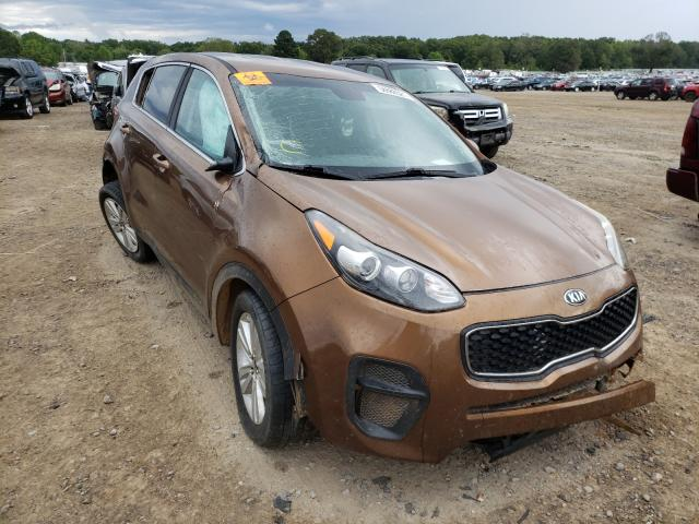 Salvage cars for sale at Conway, AR auction: 2018 KIA Sportage L