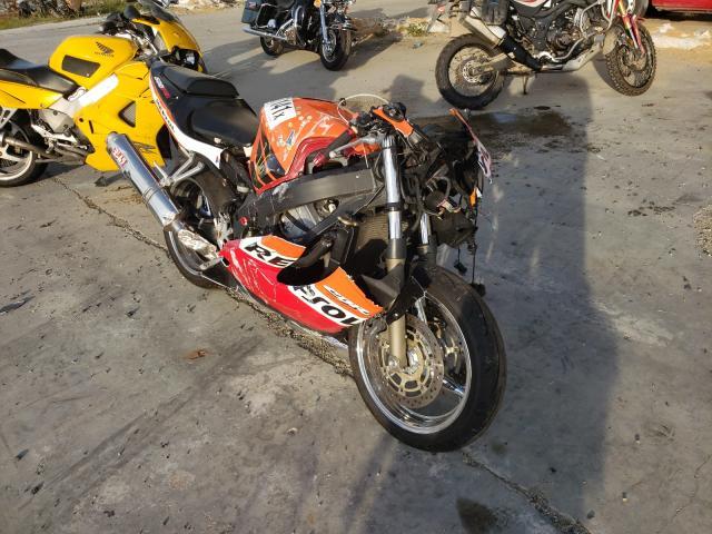 Salvage cars for sale from Copart Fredericksburg, VA: 2001 Honda CBR600 F4