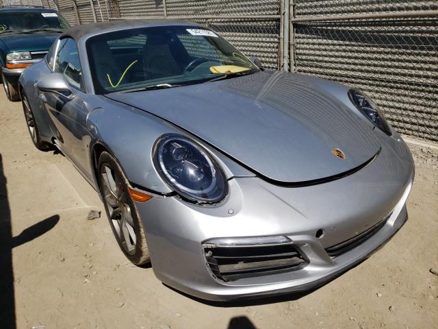 Porsche salvage cars for sale: 2019 Porsche 911 Targa