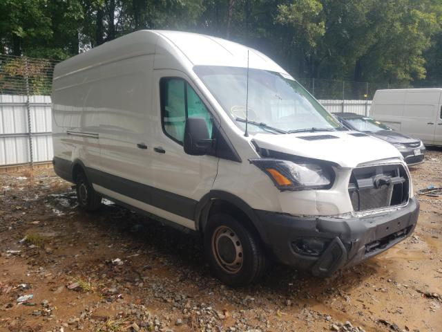 Salvage trucks for sale at Austell, GA auction: 2021 Ford Transit T