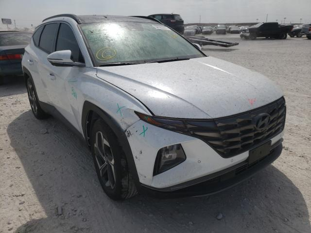 Salvage cars for sale from Copart Haslet, TX: 2022 Hyundai Tucson Limited