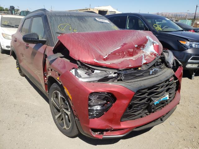 Salvage cars for sale from Copart San Martin, CA: 2021 Chevrolet Trailblazer
