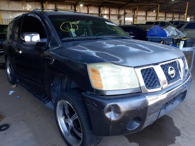 Salvage cars for sale from Copart Phoenix, AZ: 2004 Nissan Armada SE