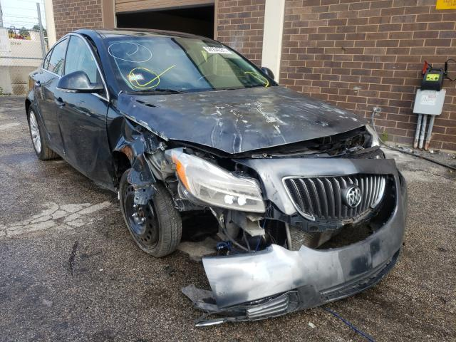 Salvage cars for sale from Copart Wheeling, IL: 2013 Buick Regal Premium