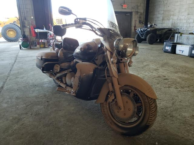 Salvage motorcycles for sale at Windsor, NJ auction: 2005 Yamaha XVZ13 CT