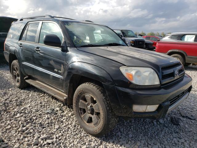 Salvage cars for sale from Copart Appleton, WI: 2004 Toyota 4runner SR