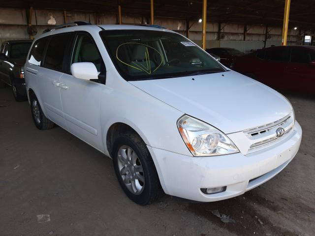 Salvage cars for sale at Phoenix, AZ auction: 2009 KIA Sedona EX