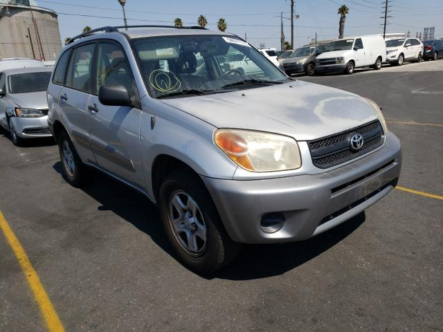 Salvage cars for sale from Copart Wilmington, CA: 2004 Toyota Rav4