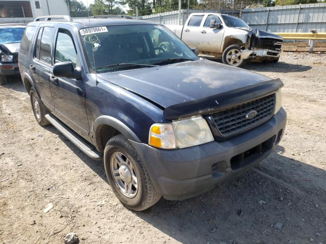 Salvage cars for sale at Florence, MS auction: 2003 Ford Explorer X