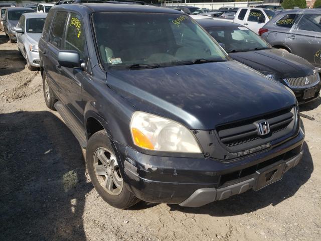 Honda Pilot EXL salvage cars for sale: 2004 Honda Pilot EXL