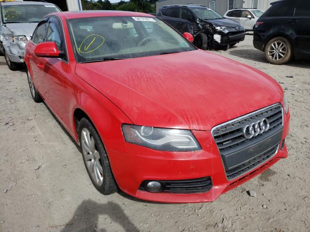Salvage cars for sale from Copart Duryea, PA: 2009 Audi A4 Premium