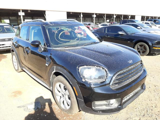 Salvage cars for sale from Copart Phoenix, AZ: 2019 Mini Cooper COU