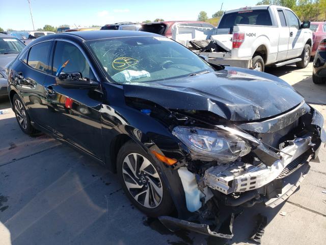 Honda salvage cars for sale: 2019 Honda Civic LX