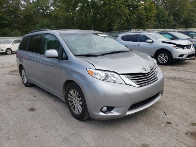 Salvage cars for sale from Copart Ellwood City, PA: 2011 Toyota Sienna XLE