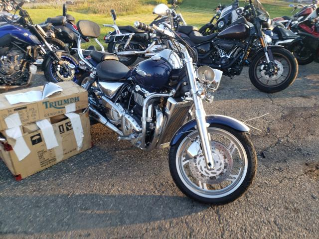 Salvage cars for sale from Copart Pennsburg, PA: 2010 Triumph Thunderbird