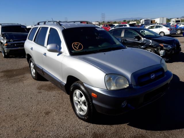 Salvage cars for sale at Tucson, AZ auction: 2005 Hyundai Santa FE G